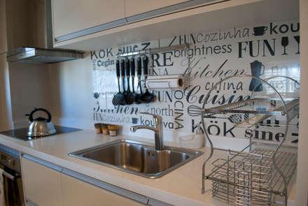 ห้องครัว by Diseñadora Lucia Casanova