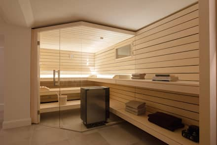 Design-Sauna von corso sauna manufaktur:  Sauna von corso sauna manufaktur gmbh