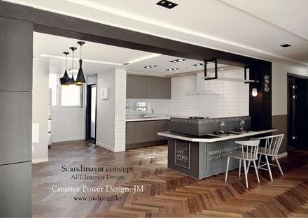 industrial Kitchen by JMdesign