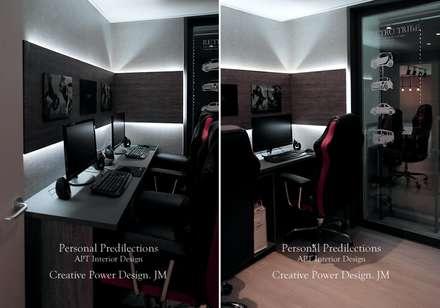 안산신길휴먼빌: JMdesign 의  서재 & 사무실
