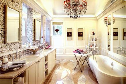 Residential Bathroom in Shenzhen, China: asian Bathroom by ShellShock Designs
