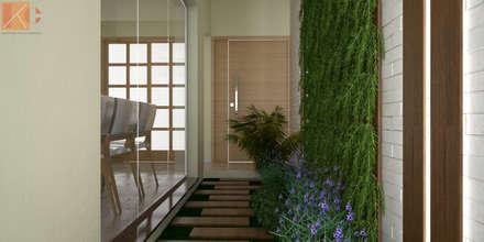 Jardines de invierno de estilo moderno por KC ARQUITETURA urbanismo e design