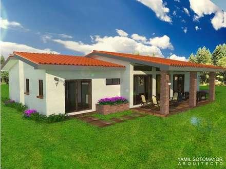 Yamil Sotomayor: Casas de estilo moderno de YAMIL SOTOMAYOR ARQUITECTO