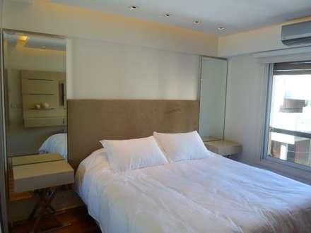 Dormitorio Suite: Dormitorios de estilo moderno por Estudio BASS Arquitectura