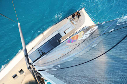 minimalistic Yachts & jets by Luca Dini Design