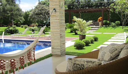 country Pool by ARQUITETURA VERDE PAISAGISMO