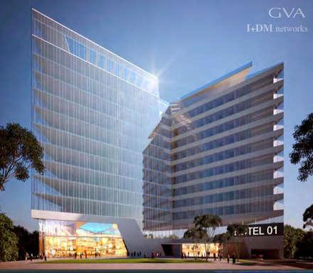 : Hoteles de estilo  por IDM NETWORKS S.A.S