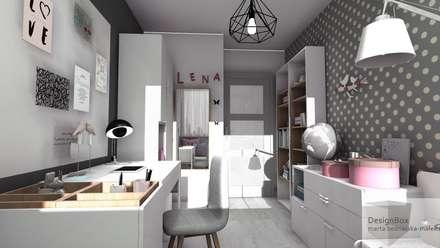 Pokój Lenki: styl , w kategorii Pokój dziecięcy zaprojektowany przez Designbox Marta Bednarska-Małek
