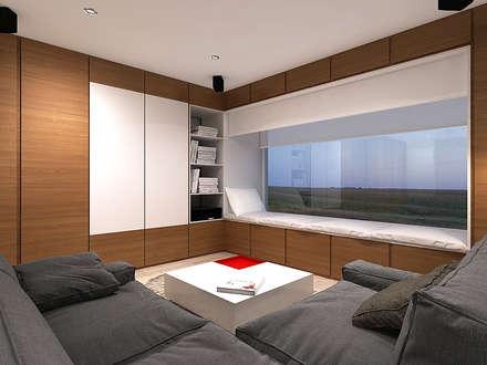 интерактивная комната: Окна в . Автор – A-partmentdesign studio