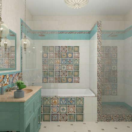 mediterranean Bedroom by Студия дизайна Дарьи Одарюк