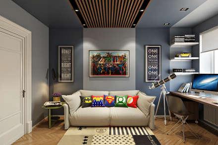 Мебельная улица: Детские комнаты в . Автор – Дарья Баранович Дизайн Интерьера