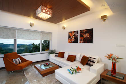 modern Living room by Savio and Rupa Interior Concepts