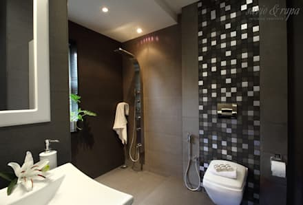 Bathroom: Modern Bathroom By Savio And Rupa Interior Concepts Part 81