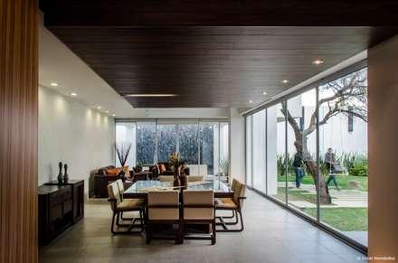 casaMEZQUITE: Comedores de estilo moderno por BAG arquitectura
