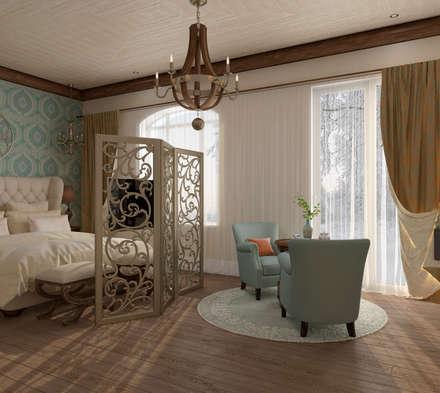 """Спальня """"Ombre di amore"""": Спальни в . Автор – Студия дизайна Дарьи Одарюк"""