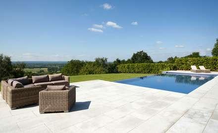 Treveuex Hill: classic Pool by Aqua Platinum Projects