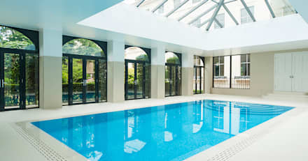 Swimming Pool - Bespoke : classic Pool by Aqua Platinum Projects