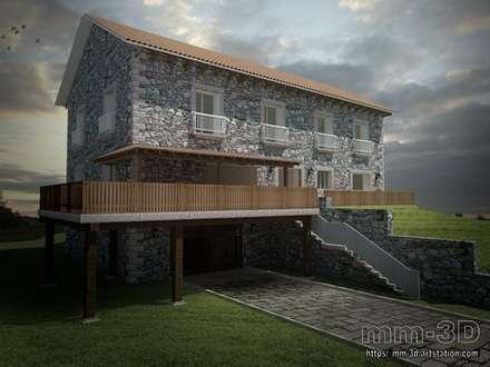 Exterior view: Hoteles de estilo  de mm-3d