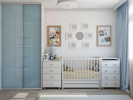 декор детской для новорожденного: Детские комнаты в . Автор – Tatiana Zaitseva Design Studio