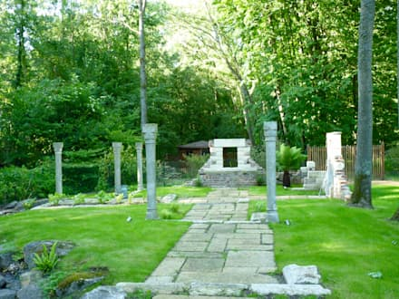 Thermes: Jardin de style de style Classique par Nature in the Garden