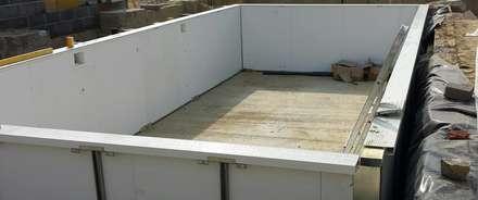 Bishop wood: classic Pool by Aqua Platinum Projects