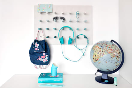 Das ultimative must-have Home DIY: multitasking Board: moderne Kinderzimmer von miss-red-fox.de