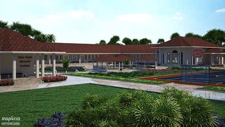 School Campus in Liberia:  Schools by Inspiria Interiors