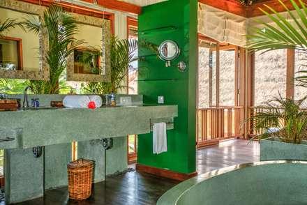 Badezimmer: asiatische Badezimmer von Buseck Architekten