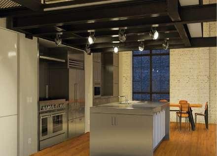 Interior: Paredes de estilo  de Rochene Floors
