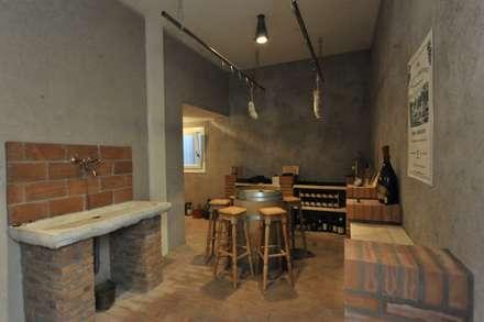 classic Wine cellar by Architetti Baggio
