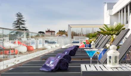 Set para  Esplanada Blue Bar: Hotéis  por Pedro Brás - Fotografia de Interiores e Arquitectura   Hotelaria   Imobiliárias   Comercial