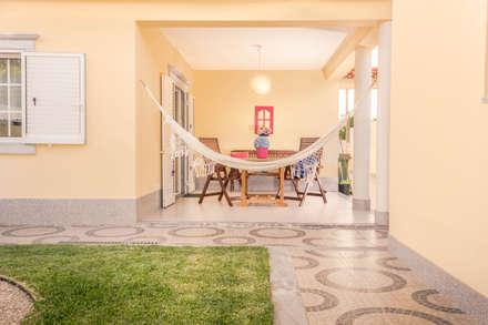 庭院 by Pedro Brás - Fotografia de Interiores e Arquitectura | Hotelaria | Imobiliárias | Comercial