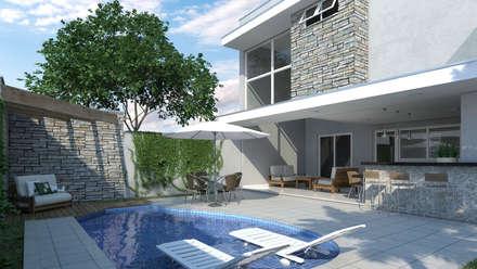 modern Pool by Reinaldo Jacon Arquitetura