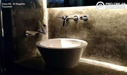Casa HZ: Baños de estilo rural por PH Arquitectos