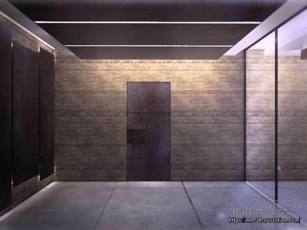 Forest Cube Art Gallery: Museos de estilo  de mm-3d