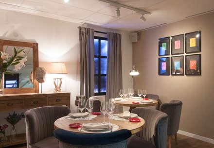 Restaurante en Madrid el gordo de Velázquez: Locales gastronómicos de estilo  de DECOLAB LABORATORIO SL