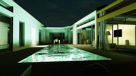 classic Pool by Biuro Architektoniczno-Budowlane s.c.