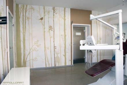 โรงพยาบาล by  Wandgestaltung Graffiti Airbrush von Appolloart