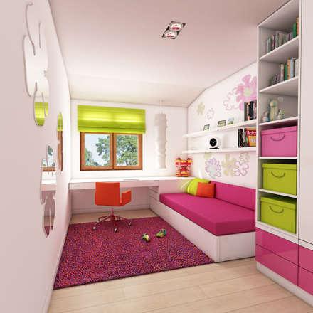 nowoczesny apartament blisko morza: styl , w kategorii Pokój dziecięcy zaprojektowany przez Pszczołowscy projektowanie wnętrz