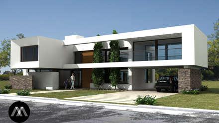 094rom casas de estilo minimalista por jamstudio - Casas Minimalistas