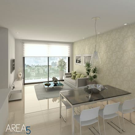 Salas ideas dise os y decoraci n homify for Lamparas para apartamentos pequenos