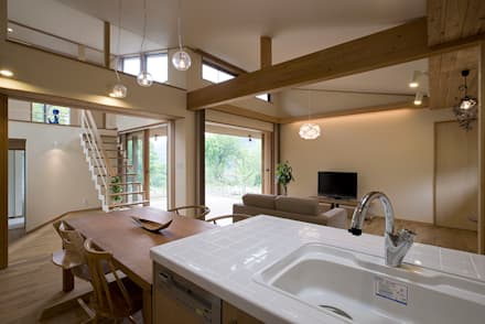 奈良町の家: ATELIER Nが手掛けたキッチンです。