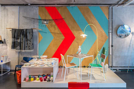 The Amazing Crocodile Design Store:  Offices & stores by Pamela Kilcoyne - Homify