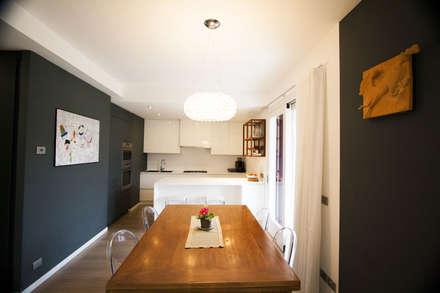 Rinnovo Arredo: Sala da pranzo in stile in stile Moderno di HAUS - Home & ambient unique solutions