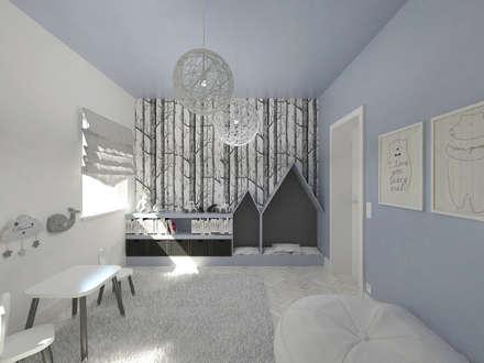 modern Nursery/kid's room by HATCH studio