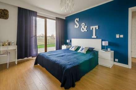 Realizacja projektu Ariel: styl , w kategorii Sypialnia zaprojektowany przez BIURO PROJEKTOWE MTM STYL