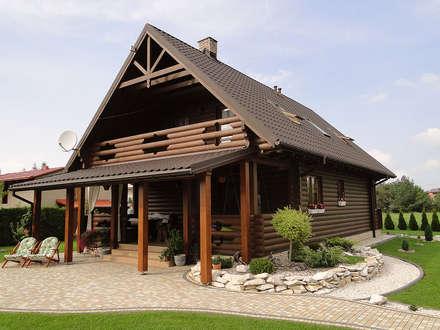 Realizacja projektu Konwalia bal: styl wiejskie, w kategorii Domy zaprojektowany przez Biuro Projektów MTM Styl - domywstylu.pl