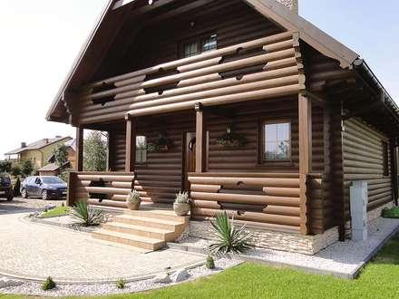 Realizacja projektu Konwalia bal: styl wiejskie, w kategorii Domy zaprojektowany przez BIURO PROJEKTOWE MTM STYL