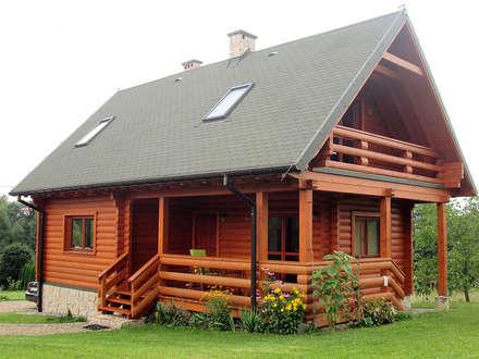 Realizacja projektu Biedronka bal: styl wiejskie, w kategorii Domy zaprojektowany przez BIURO PROJEKTOWE MTM STYL