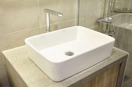세면기: 제이앤예림design의  화장실